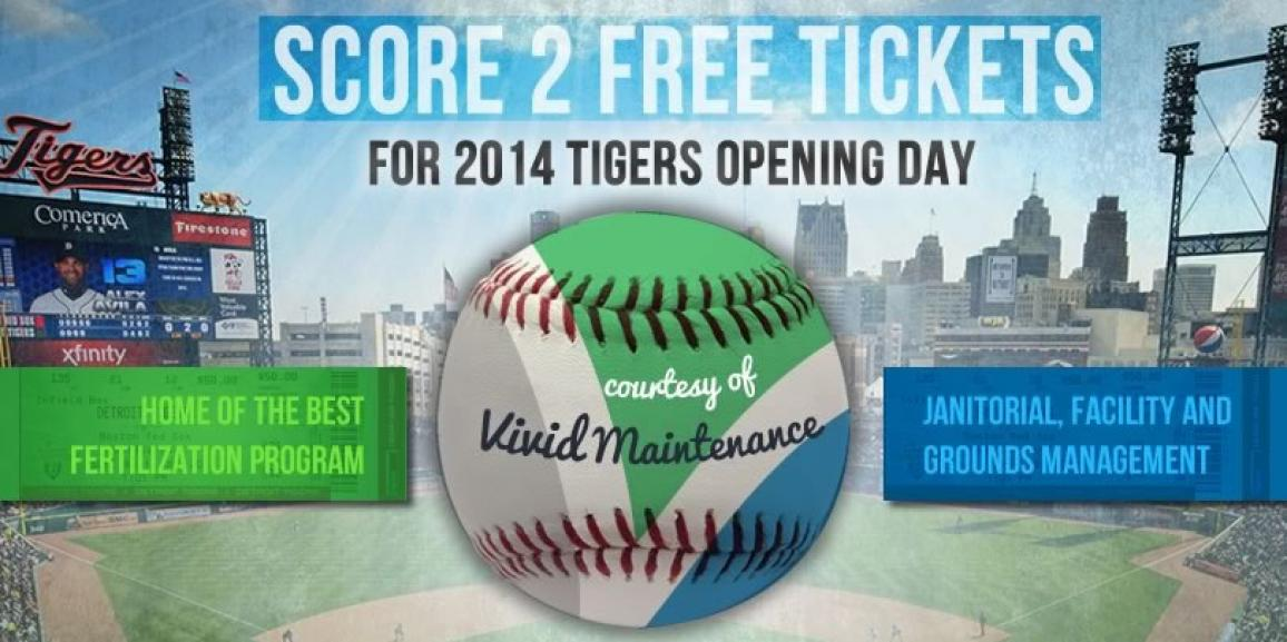 Score Two Opening Day Tiger Tickets!